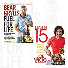 Lean in 15 and Fuel for Life 2 Books Bundle Collection- 15 minute meals and workouts to keep you lean and healthy,Achieve maximum health with amazing dairy, wheat and sugar-free recipes and my ultimate 8-week eating plan