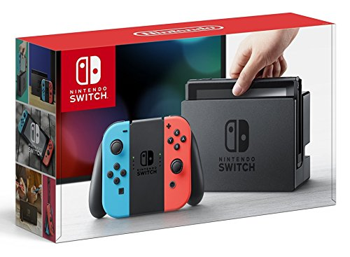 Nintendo Switch with Neon Blue and Neon Red Joy-Con(Version US, Importée)