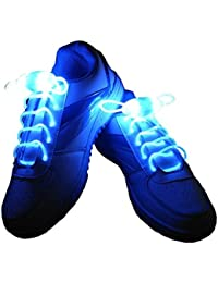 7ad321215d4d Lify Waterproof Luminous LED Shoelaces Fashion Light Up Casual Sneaker Shoe  Laces Disco Party Night Glowing