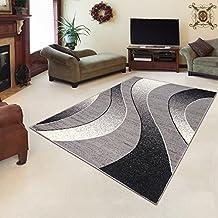 alfombra para saln precio bajo cheap ondas gris diferentes dimensiones sxxl x