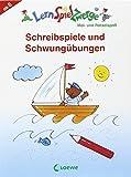 LernSpielZwerge Übungsblock: Schreibspiele und Schwungübungen für