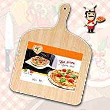 PALA de pizza en madera natural BEECHWOOD PIZZA PADDLE PEEL GIROPIZZA