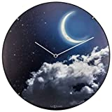 NeXtime 3177.0 New Moon Dome, Plastique, Phosphorescent, 35 x 35 x 5 cm