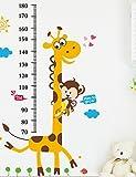 Gweat® Tier Messen Sie Ihre Körpergröße Wandaufkleber