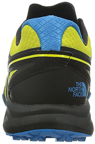 The North Face M Ultra Mt, Chaussures de Running Entrainement Homme Acid Yellow/TNF Black