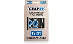 Grip-It TV Bracket Plasterboard Fixing Kit