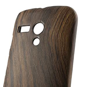 iSlip Wood Pattern Hard Case Back Cover For Motorola Moto G