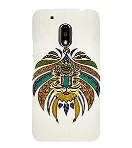 Tribal Art 3D Hard Polycarbonate Designer Back Case Cover for Motorola Moto G4