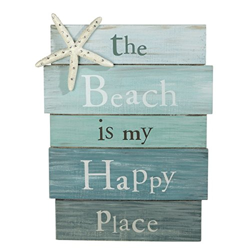 the-beach-is-my-happy-place-plank-board-sign-with-starfish-and-rhinestone-accents-12-x-9-by-grasslan