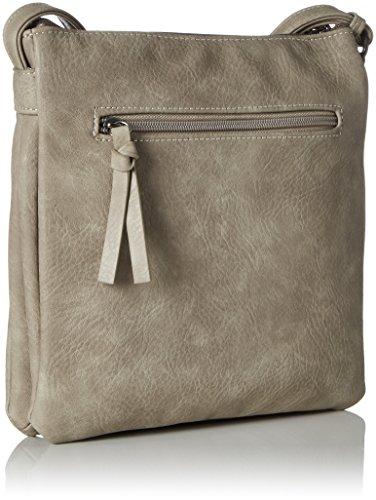 Tamaris - Khema Crossbody Bag, Borse a tracolla Donna Grigio (Pepper Comb)