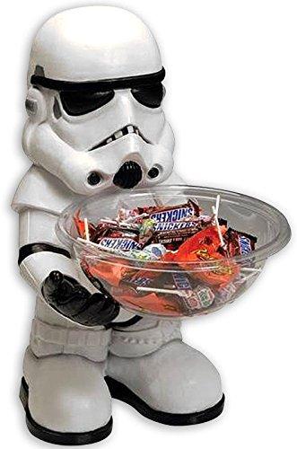 Holder Stormtrooper/Süßigkeitenhalter mit Schüssel (H: 50cm) ()