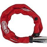 Abus, 1500 Web - Antifurto a catena di blocco, Rosso (Red), 60 cm