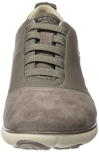 Geox Damen D Nebula G Sneaker Braun (Lt Taupe)