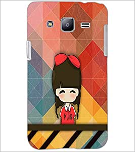 PrintDhaba Cartoon D-3340 Back Case Cover for SAMSUNG GALAXY J2 (Multi-Coloured)