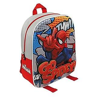 51ldQRWvl8L. SS324  - Spiderman - Mochila Relieve de Goma, 25 x 31 cm (Cerdá 2103-1796)