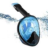 Máscara de Buceo BIGWING Style 180 ° de visión de snorkel con diseño de respiración libre antivaho y tecnología antifugas con soporte para cámara GoPro para todos los amantes del buceo