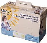 Bieco 409830 - Paños multifuncionales (20 unidades, 33 x 46 cm)