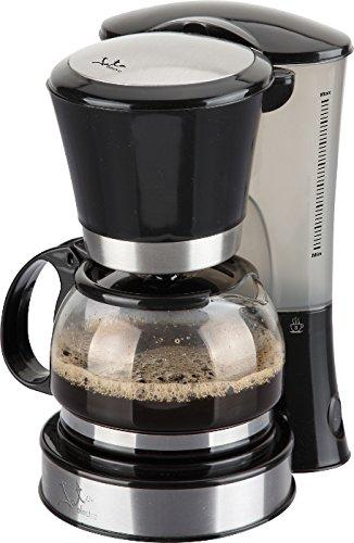 Jata Cafetera CA288N, 600 W, 1 Liter, 0 Decibeles, Acero Inoxidable, Negro