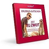 mydays Erlebnis-Gutschein ZEIT ZU ZWEIT/2 Personen/80 Erlebnisse an über 420 Standorte/Geschenkidee für Paare