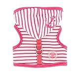 Pinkaholic New York NAQA-AH7211 Hunde Weste, Materlot Harness, Medium, pink