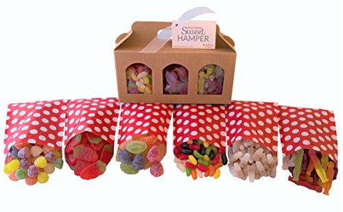 Vegetarian Sweet Hamper Box - Great Vegetarian Gift for Birthday, Easter, Valentine's, Mother's & Father's Day, Christmas etc!