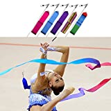 Nastri da ginnastica ritmica Dance streamer asta Twirling Art palestra fitness Ribbon Trimming Shop