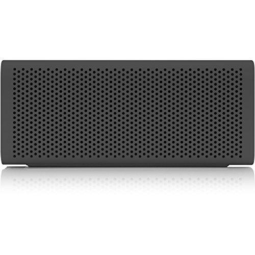 Braven B705GBP 705 HD Wireless tragbarer, aufladbarer & Spritzwasser geschützter Bluetooth Lautsprecher für Smartphones, Tablets, PCs usw. inkl. Akku zum Laden für Smartphones - grau