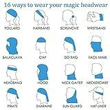 Roar Tiger Outdoor Headwear Bandeau Magic Scarf Headscarf Bandana Masque Doublure Tête