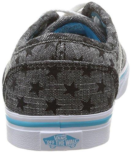 Vans Z ATWOOD LOW (CHAMBRAY STAR) Mädchen Sneakers Grau ((Chambray Star) / DEG)