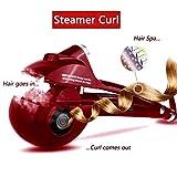 Wende Automatic è una piastra per arricciare i capelli con piastre in ceramica e display digitale LED (red) immagine