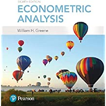 ECONOMETRIC ANALYSIS 8/E