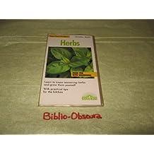 Herbs (Barron's Mini Fact Finders Series)