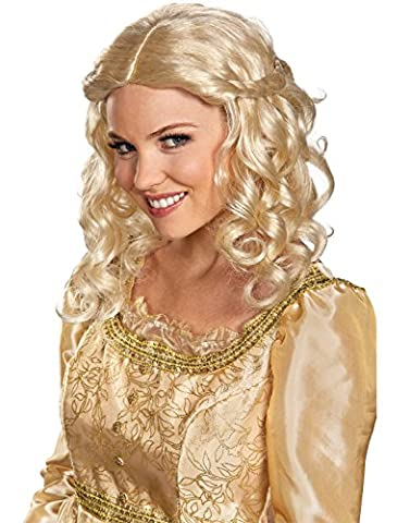 Adult Aurora Costumes - Disguise Aurora Wig Adult One Size