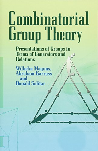 Combinatorial Group Theory: Presentations of Groups in Terms of Generators and Relations (Dover Books on Mathematics) por Wilhelm Magnus