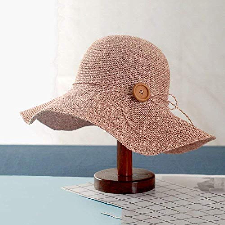 Oudan Cappello Pieghevole Fatto a Mano del Cappello di Paglia di della  Spiaggia di Sun di Paglia Estate per la Vacanza di... Parent 4b0531 0ee02f6cca42