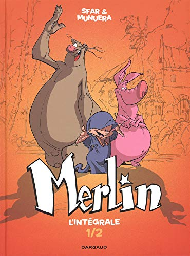 Merlin - Intégrale - tome 1 - Merlin - intégrale T1/2 par  Sfar Joann