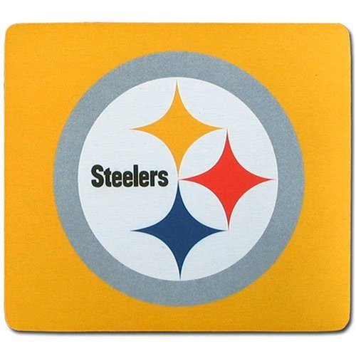 NFL Pittsburgh Steelers Neoprene Mouse Pad (Wallet Chain Logo)