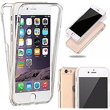 Generica - Funda TPU Doble Frontal Trasera 360 Ultra Fina Iphone 6 Plus y 6S Plus