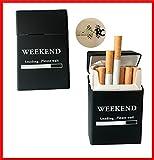 2x Zigarettenbox aus Silikon - Update 2017 - Weekend - Zigarettenhülle - Zigarettenetui - passend für eine Zigarettenschachtel in Standardgröße molinoRC ® - auch passend für die neuen 21er Schachteln
