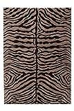 Teppich Bulgaria - Montana Taupe 160cm x 230cm supersofte Haptik durch Mikro-Polyester, strapazierfähig & pflegeleicht