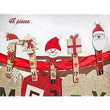 Suchergebnis Auf Amazonde Für Wäscheklammern Weihnachtsmann