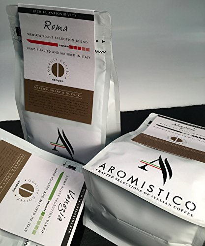 AROMISTICO COFFEE Napoli Selection Blend – GROUND