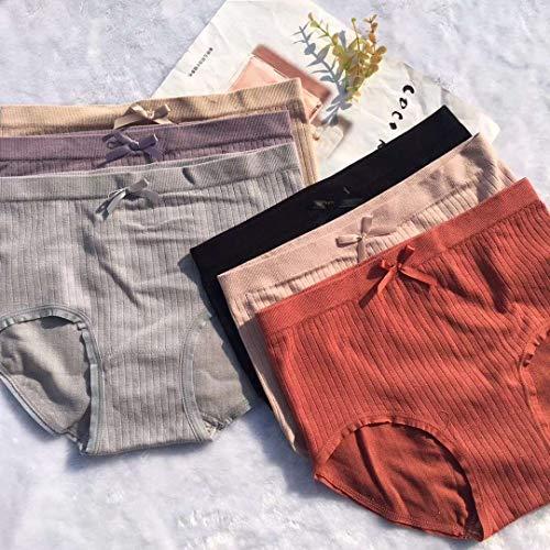 YSJL Damen Taillenslip 5 Farben kombinieren und kombinieren einheitsgröße - 3