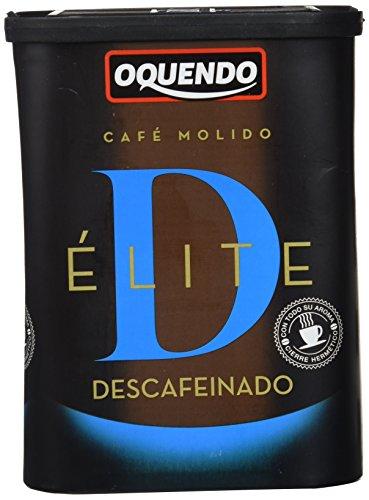 OQUENDO café molido descafeinado bote 250 gr