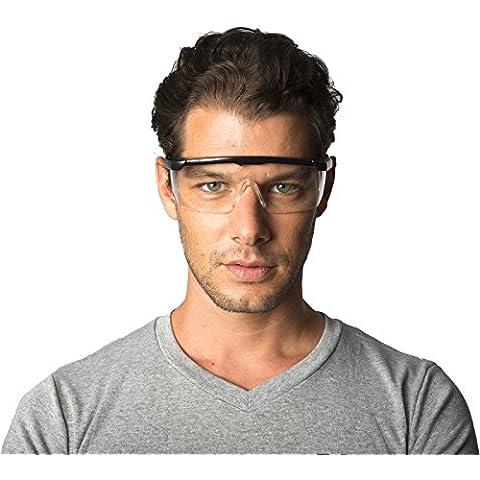 Dr. James BRSS RX 200 - Occhiali protettivi da lavoro, confortevoli, EN166