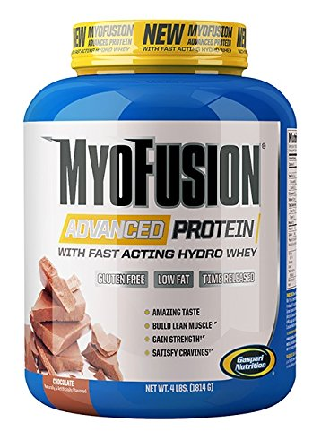 Gaspari Nutrition - Myofusion Advanced 4Lb Chocolate - 51ldg7RF13L