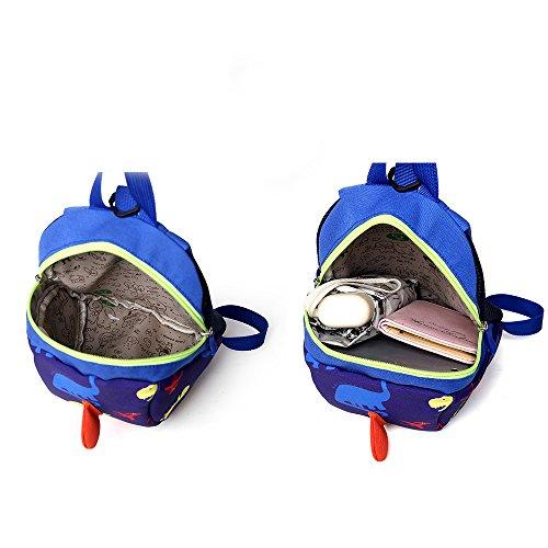 Kindergarten Baby Jungen Mädchen Schuletaschen Dinosaurier Kleinkind Kinder Schultaschen Rucksäcke Tiefrosa: 0-3 Jahre