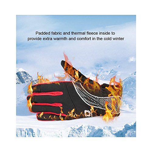 4Ucycling Warm Thermo Fleece Gloves Touchscreen Touch Fahrrad Handschuhe Radsport Handschuh Radhandschuhe - 5