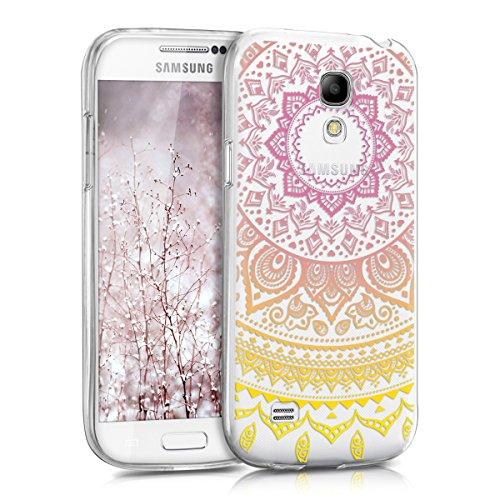 kwmobile Funda para Samsung Galaxy S4 Mini - Carcasa de TPU para móvil y...