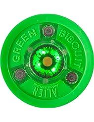 Green Biscuit Alien Puck
